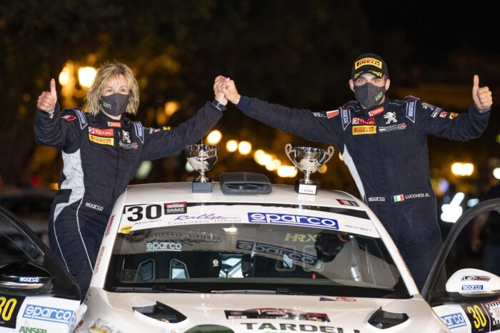 TARGA FLORIO: UN SUPER LUCCHESI DOMINA NEL PEUGEOT COMPETITION 208 Rally Cup TOP